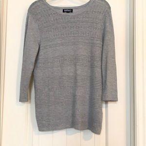 buffalo 3/4 sleeve sweater.